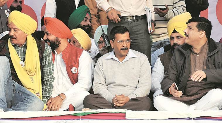 Arvind Kejriwal, Punjab polls, Punjab elections, AAP-Punjab elections, Punjab-drug addicts, India news, Indian Express