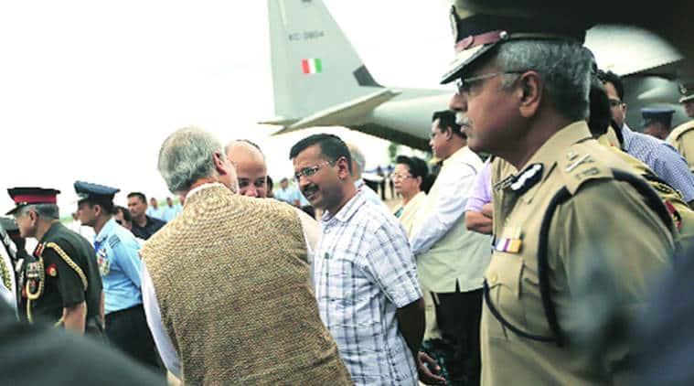 arvind kejriwal, aap government, delhi cm kejriwal, najeeb jung, shunglu panel, delhi lt governor, najeeb jung resigns, delhi news, indian express, india news