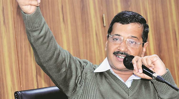 Arvind Kejriwal, Anil Baijal, AAP-BJP, Aam Aadmi Party, MCD elections, MCD polls, Delhi civic polls, house tax waiver, office allotment, delhi news, india news, indian express