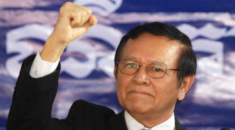 Kem Sokha , Kem Sokha arrest, Cambodian opposition leader, Cambodia National Rescue Party (CNRP), Kem Sokha arrested, World News, Indian Express News
