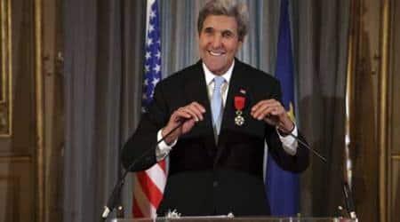 John Kerry awarded French Legion of Honor forpeace-making