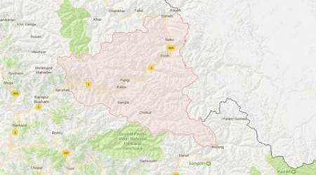 Severe dry spell leads to forest fires in Kinnaur, locals desperate to savehomes