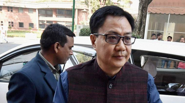 KIren Rijiju, Rijiju, Jawan, Rijiju Jawan, CRPF, CRPF jawan, CRPF Kiren Rijiju, Government, government of India, CRPF, BSF, BSF jawan, Rajnath SIngh, IndiA news, indian express news