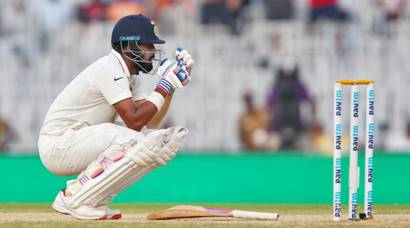 India vs England: Heartbreak for KL Rahul but India ahead in Chennai