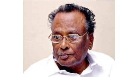 Ko Si Mani, Ko Si Mani death, Ko Si Mani DMK, DMK, DMK minister Ko Si Mani, Tamil Nadu, Kumbakonam constituency, latest news, indian express news