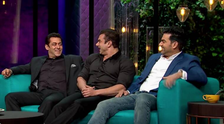 koffee salman episode, koffee with karan salman khan, salman khan koffee with karan, koffee salman 100 episode, koffee 100 episode, salman on koffee with karan, salman sohail arbaaz, salman khan karan johar, salman khan brothers, salman khan sohail arbaaz koffee, koffee with karan season 5, koffee with karan 5, koffee karan johar salman, salman khan episode, salman koffee episode, koffee with karan written update, koffee with karan dec 11, koffee with karan 11 dec, television news, indian express, indian express news