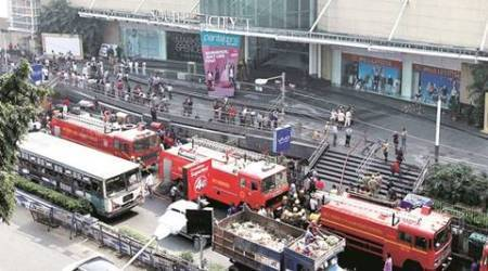 Kolkata: Fire in South City Mall, nocasualty