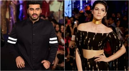 kriti sanon, arjun kapoor, masaba, masaba gupta, shane and falguni peacock, blender's pride fashion tour, celeb fashion, bollywood fashion, indian express, indian express news