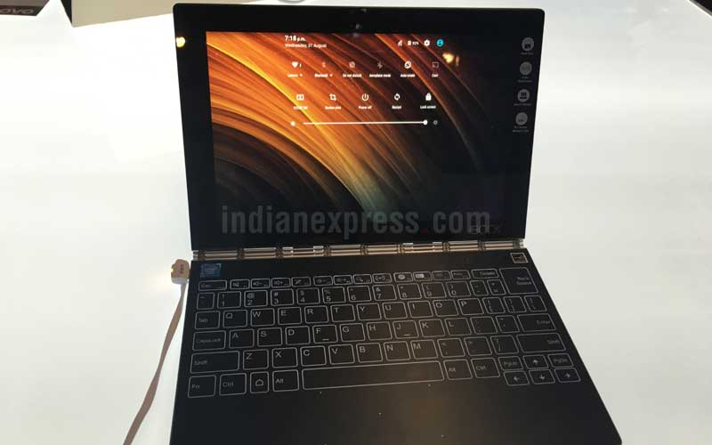 Lenovo Yoga Book Launched In India Price And Specifications Technology News The Indian Express