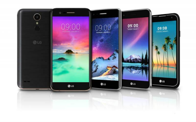 LG, LG CES 2017, CES 2017, K3, k4, k8, K10, stylus 3, Android Marshmallow, Android Nougat, LG smartphones CES 2017, CES 2017 smartphones, technology, technology news