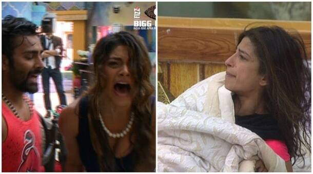 bigg boss 10 highlights, bigg boss 10 yesterday episode, bigg boss updates, lopa priyanka fight, lopamudra priyanka jagga fight, lopamudra priyanka jagga slut