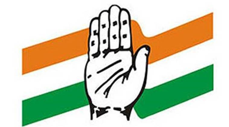 congress logo, congress symbol, indian express