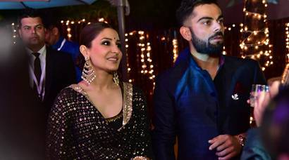 Anushka Sharma-Virat Kohli at Yuvraj Singh-Hazel Keech wedding