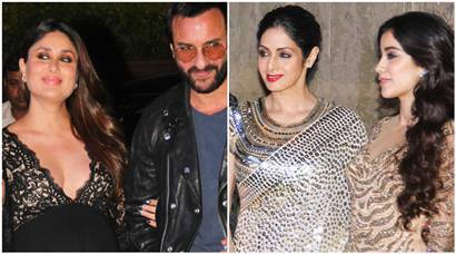 Kareena Kapoor, Sridevi and her daughters simply slay at Manish Malhotra's birthday party