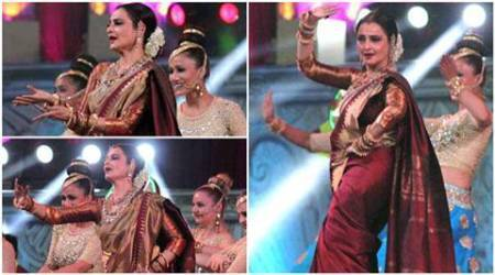 Star Screen Awards 2016: Rekha's 2-minute dance gig stole the entire night, seepics