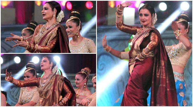 New Hindi Movei 2018 2019 Bolliwood: Star Screen Awards 2016: Rekha's 2-minute Dance Gig Stole