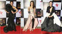 star screen awards, star screen awards red carpet, deepika padukone, alia bhatt, sonam kapoor, kriti sanon, indian express, indian express news, fashion, lifestyle