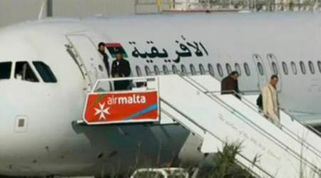 Libyan plane hijacking LIVE:  Hijackers surrender, searched and taken into custody, says PM Muscat