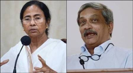 mamata banerjee, manohar parrikar, mamata banerjee army, army deployed west bengal, army bengal, army in bengal, latest news, army deployment