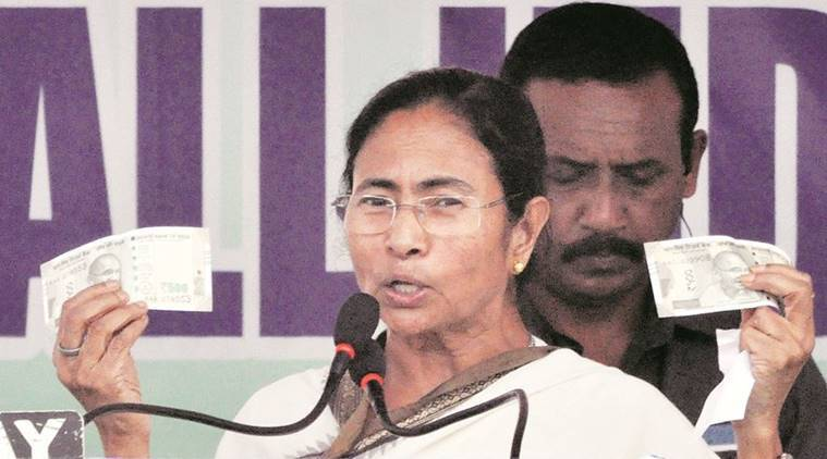 demonetisation, BJP, BJP demonetisation, Mamata Banerjee, mamata, west bengal CM, mamata banerjee demonetisation, BJp on Mamata Banerjee, india news, indian express news