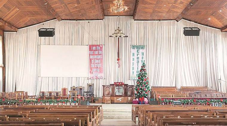 manipur, christmas, Christmas eve, manipur christmas, manipur Christmas eve, churches, manipur churches, india news, indian express