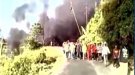 Curfew imposed in parts of Imphal, mobile internet service snapped after violence