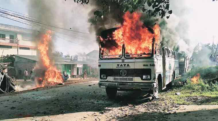 Manipur crisis, Manipur violence, Manipur economic blockade, United Naga Council, Manipur-Nagaland, Manipur civil society, India news, Indian Express