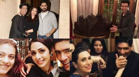 Manish Malhotra's 50th birthday: Midnight party with 50 kilos chocolate cake, here is all that happened