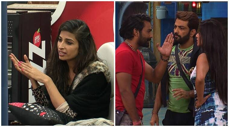 Bigg Boss 10 preview, bigg boss 10 tonight episode, manveer manoj figfht, bani j bigg boss 10, captaincy task bigg boss 10, priyanka jagga manveer brain wash, monalisa manveer fight,