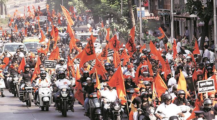 Maratha rally, Nagpur, Maratha agitation, Maratha-OBC, Maharashtra, reservation, Maharashtra news, India news, Indian Express