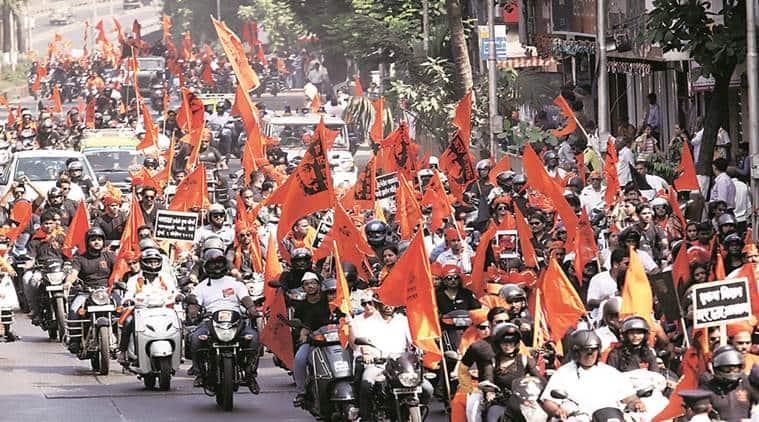 Maratha rally, Nagpur, Maratha agitation, Maratha-OBC, Maharashtra, reservation, Maharashtra news, India news, Indian Express