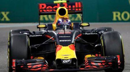 Red Bull driver Max Verstappen of the Netherlands steers his car during the Emirates Formula One Grand Prix at the Yas Marina racetrack in Abu Dhabi, United Arab Emirates, Sunday, Nov. 27, 2016. (AP Photo/Luca Bruno)