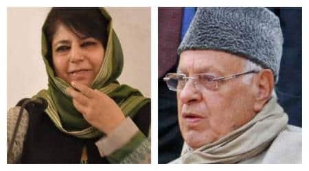Article 35 A fears unite arch-rivals Mehbooba Mufti, FarooqAbdullah
