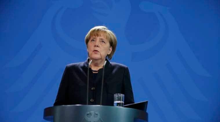 Donald Trump, Trump, Angela Merkel, German Chancellor Merkel, Trump on migrants, migrants in Germany, Berlin attack, Trump slams merkel, Merkel on migrants in Germany, world news, indian express news
