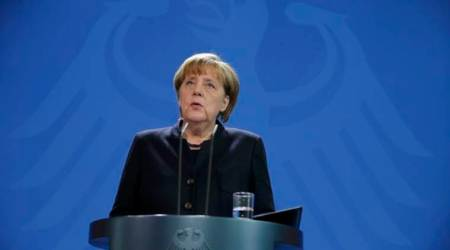 Angela Merkel says Germany remains committed to Iran nuclearaccord