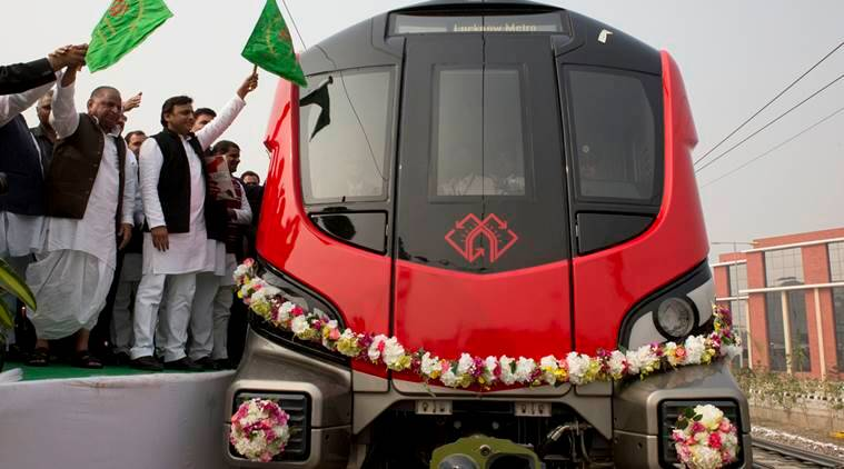 lucknow metro, metro in lucknow, lucknow metro train, akhilesh yadav, mulayam singh, samajwadi party, UP metro, lucknow metro news, lucknow metro trial run