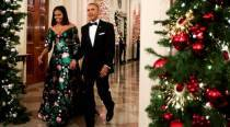 Michelle Obama makes a political statement with her latest Gucci dress