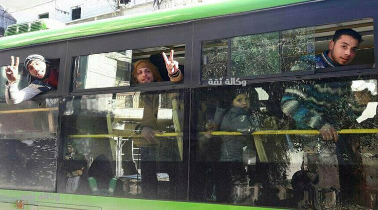 Aleppo Victory, Syria news, Aleppo situation, Syrian Army victory, Syrian President Bashar Assad, Syrian civil war ends, Syria victory, Aleppo, world news, indian express news