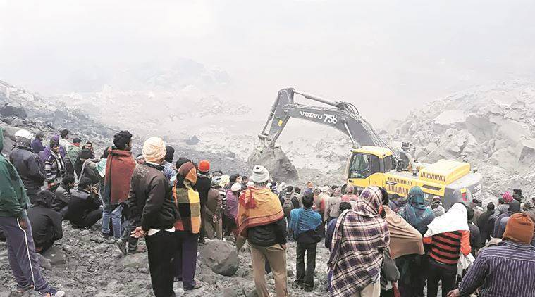 mine collapse, jharkhand mine collapse, mine collapse jharkhand, coal mine collapse, lal matia mine collapse, godda mine collapse, india news, mine collapse news,