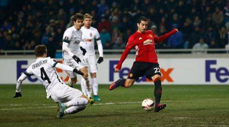Mkhitaryan delights Mourinho with wonder goal