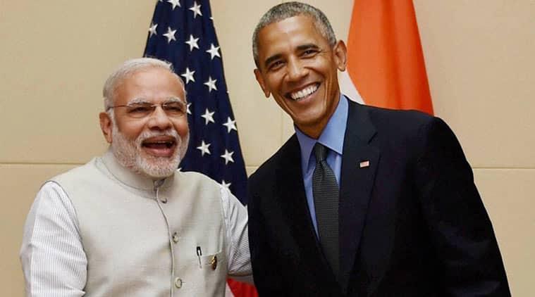 Prime Minister Narendra Modi with US President Barack Obama (File)