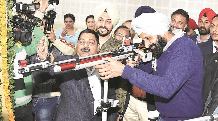 Mohali shooting range, Majithia opens facility, Mohli news, latest news, India news, National news, Punjab news,