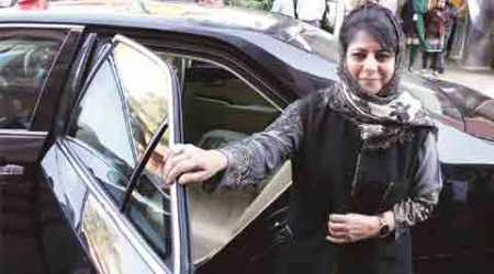 Mehbooba Mufti links lifting of AFSPA with end ofterrorism