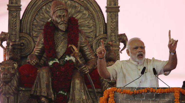 narendra modi, mumbai, narendra modi mumbai, narendra modi mumbai speech, narendra modi BKC speech, india news, indian express