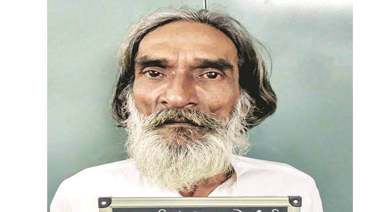 Gulam Mohammad Rafiq Sheikh, also known as 'seetiwale baba' in his locality, had been absconding for over  three months.