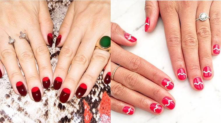 Christmas 2016: 5 red nail art ideas to try out this season | The ...