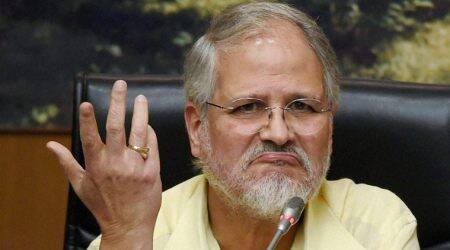 Najeeb jung, Najeeb Jung on Delhi violence, Delhi police power, Prime Minister Narendra Modi, central government, Indian express