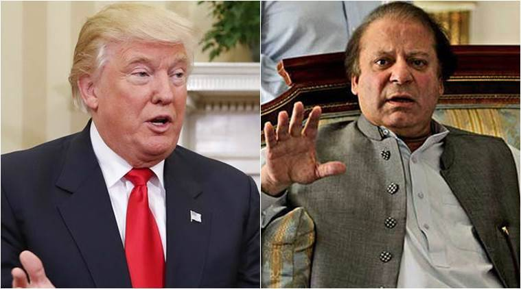 donald trump, nawaz sharif, us, pakistan, indian express