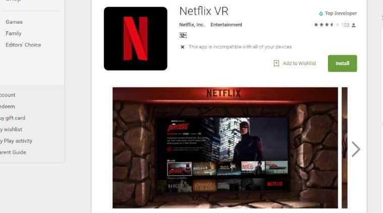 Netflix, Google, Google Daydream View, Daydream View, Netflix VR app, Netflix VR app for Daydream, virtual reality, VR, VR headset, Samsung Gear VR, Oculus VR, apps, smartphones, technology, technology news