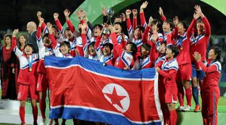 N Korea revel in double World Cup wins